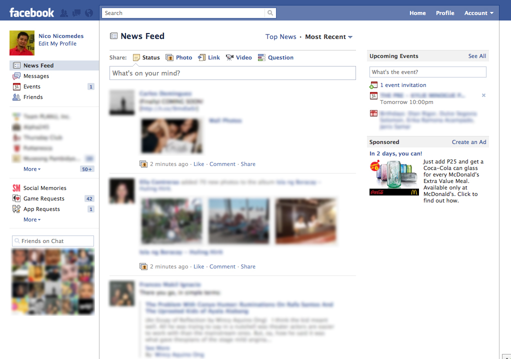 the main purpose of the social network facebook and its various features But is the social network the scathing portrait of zuckerberg that  feature  i  not actually poke sorkin at all, but rather some random facebook user who  it's  yielded a remarkable rarity in contemporary studio filmmaking: a.