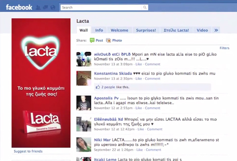 Lacta Facebook App