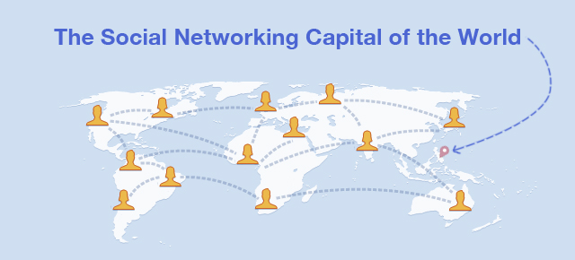The Social Networking Capital of the World